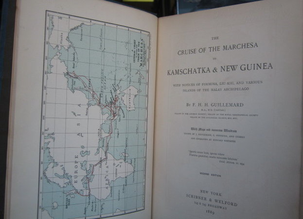 THE CRUISE OF THE MARCHESA TO KAMSCHATKA & NEW GUINEA, with notices of Formose, Liu-Kiu, and various islands of the Malay Archipelago...Second edition by GUILLEMARD, F.H.H.