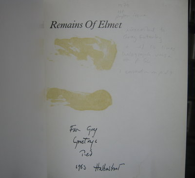 REMAINS OF ELMET: a Pennine sequence. Poems by Ted Hughes. Photographs by Fay Godwin by HUGHES, Ted