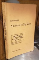 A DEMON IN MY VIEW (proof) by RENDELL, Ruth