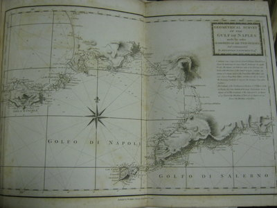 LE PETIT NEPTUNE FRANÇAIS; or, French Coasting Pilot, for the coast of Flanders, Channel, Bay of Biscay, and Mediterranean. To which is added. the Coast of Italy from the River Var to Orbitello; with the Gulf of Naples and the Island of Corsica... by FADEN, William (1750?-1836) (Georges Boissaye Du Bocag, 1625-96)