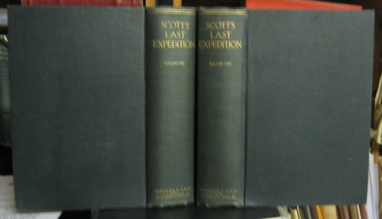 SCOTT'S LAST EXPEDITION. In Two Volumes... Arranged by Leonard Huxley. With a Preface by Sir Clements R. Markham... by SCOTT, R.F., Captain