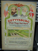 GETTYSBURG: What they did there. Profusely illustrated historical guide book by MINNIGH, L.W.