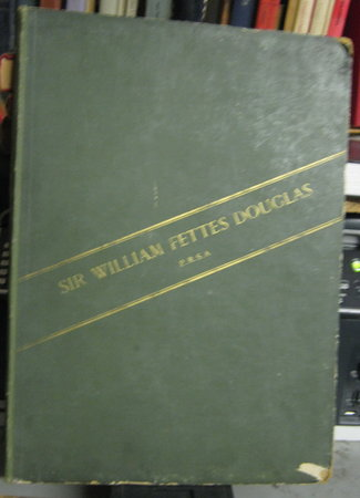 EIGHT PHOTOGRAVURES FROM THE WORKS OF WILLIAM FETTES DOUGLAS, P.R.S.A. By Messrs. Boussod, Valadon and Company. With a portrait after George Reid, R.S.A. And a critical sketch by John M. Gray by GRAY, John M.