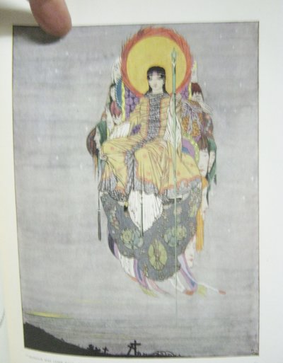 THE YEAR'S AT THE SPRING: an anthology of recent poetry...illustrated by Harry Clarke. With an Introduction by Harold Monro by WALTERS, L. D' O., compiler (Harry Clarke)