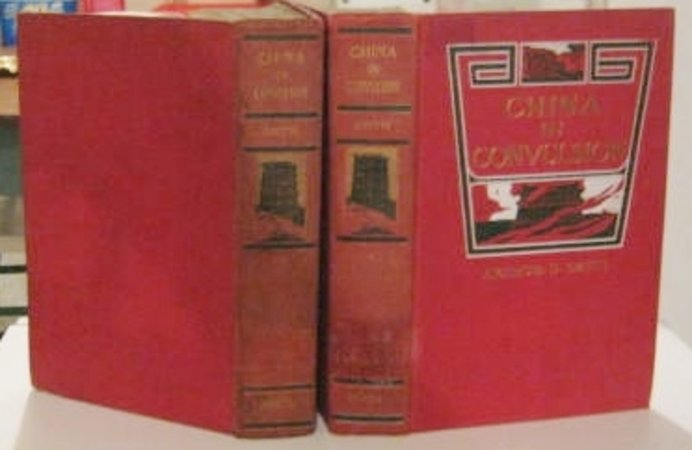 CHINA IN CONVULSION (Two volumes) by SMITH, Arthur H.