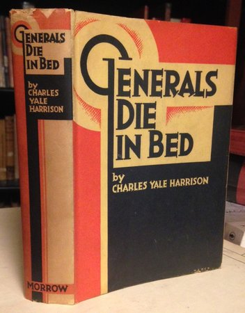 GENERALS DIE IN BED by HARRISON, Charles Yale
