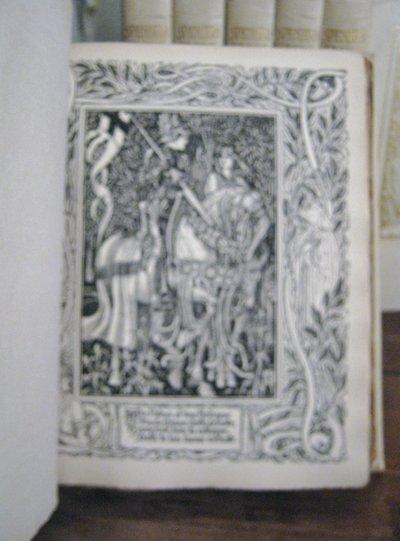 SPENSER'S FAERIE QUEENE: a poem in six books, with the fragment Mutabilitie. Edited by Thomas J. Wise by SPENSER, Edmund (Walter Crane)