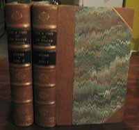 THE LIFE AND TIMES OF SIR WILLIAM JOHNSON, Bart. (Millard Fillmore's copy) by STONE, William L.
