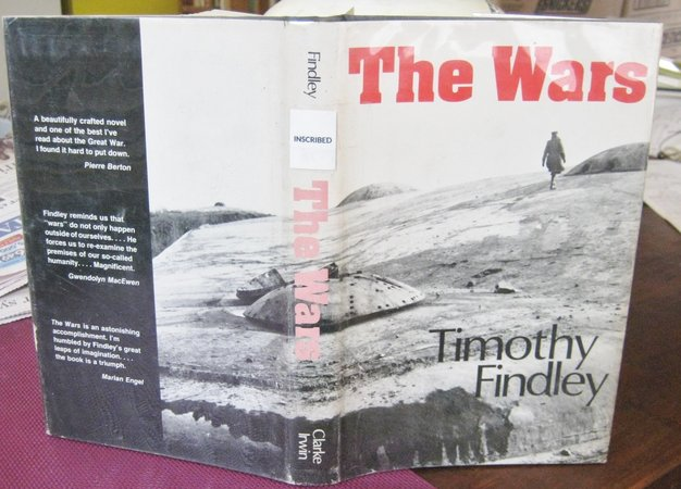 THE WARS (inscribed) by FINDLEY, Timothy