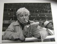 Glossy photo of Jack at the track by MICHELINE, Jack (Christopher Felver)