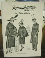 MANNHEIMER BROS. ST PAUL, MINN. Winter 1914-15 by MANNHEIMER BROTHERS ST. PAUL, MINNESOTA. Trade catalog, ladies' wear
