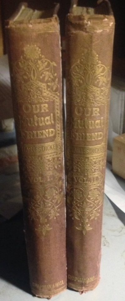 OUR MUTUAL FRIEND. With illustrations by Marcus Stone by DICKENS, Charles