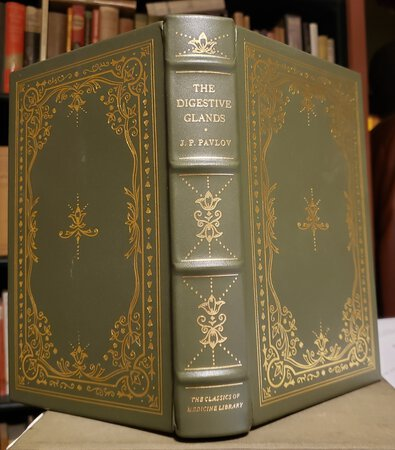 THE WORK OF THE DIGESTIVE GLANDS: A Facsimile of the First Russian Edition of 1897, Together with the First English Translation of 1902 by W.H. Thompson. by PAVLOV, J.P.