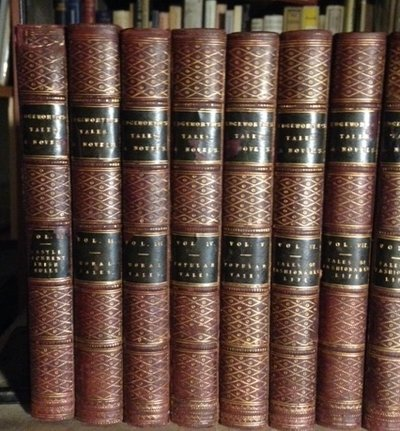 TALES AND NOVELS. In eighteen volumes by EDGEWORTH, Maria, 1767-1849
