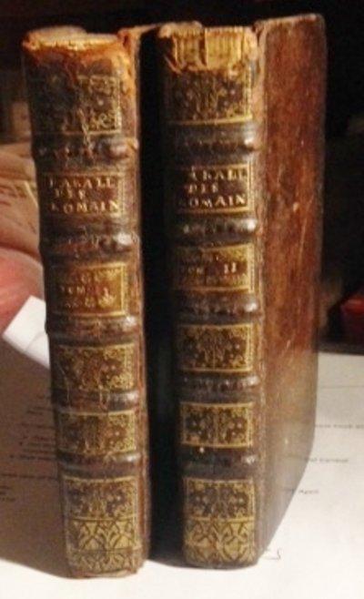 Parallèle des Romains et des François par rapport au Gouvernement by (BONNOT DE MABLY, Gabriel, 1709-85)