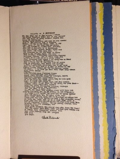 CRUCIFIX IN A DEATHHAND. New Poems 1963-65. A Loujon Press Award Book. With etchings by Noel Rockmore  by BUKOWSKI, Charles