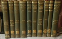 HISTORICAL GEOGRAPHY OF THE BRITISH COLONIES (12 volumes in ten) by LUCAS, C.P., and others