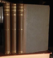 THE COLLOQUIES OF DESIDERIUS ERASMUS concerning men, manners, and things. Translated into English by N. Bailey and edited, with notes by the Rev. E. Johnson, M.A. In three volumes by ERASMUS, Desiderius