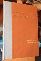 LYRICS UNROMANTIC by GUSTAFSON, Ralph