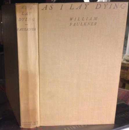 AS I LAY DYING by FAULKNER, William