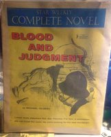 BLOOD AND JUDGMENT by GILBERT, Michael
