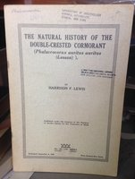 The natural history of the double-crested cormorant (phalacrocorax auritus auritus (Lesson)) by Lewis, Harrison F.