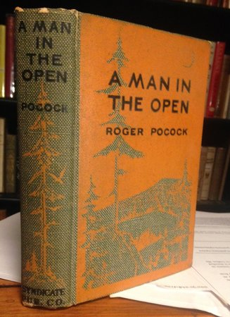 A MAN IN THE OPEN. Illustrated by M. Leone Bracker by POCOCK, Roger