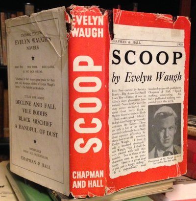 SCOOP: a novel about journalists by WAUGH, Evelyn