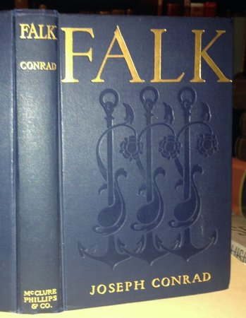 FALK, Amy Foster, To-Morrow: three stories.  by CONRAD, Joseph