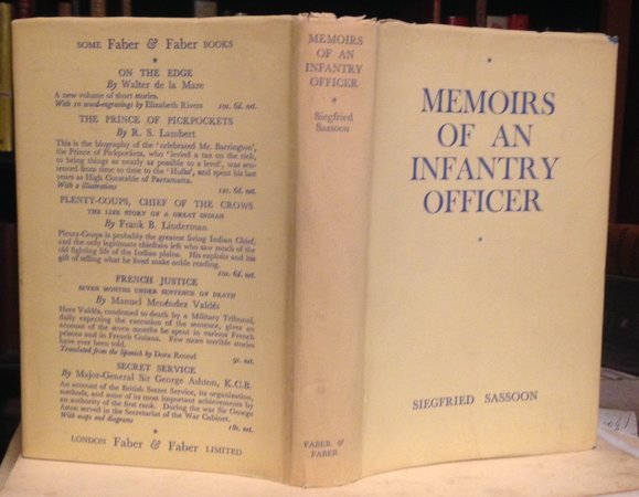 MEMOIRS OF AN INFANTRY OFFICER. by SASSOON, Siegfried