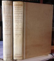 THE ANATOMY OF MELANCHOLY. Now for the first time With the Latin completely given in translation and embodied in an all-English text. Edited by Floyd Dell and Paul Jordan-Smith. In two volumes by BURTON, Robert