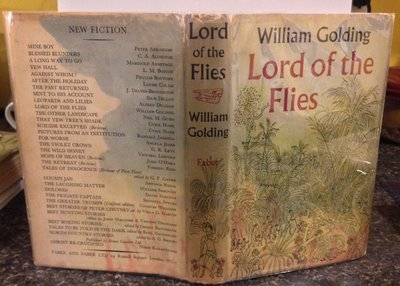 LORD OF THE FLIES (trial binding, signature) by GOLDING, William