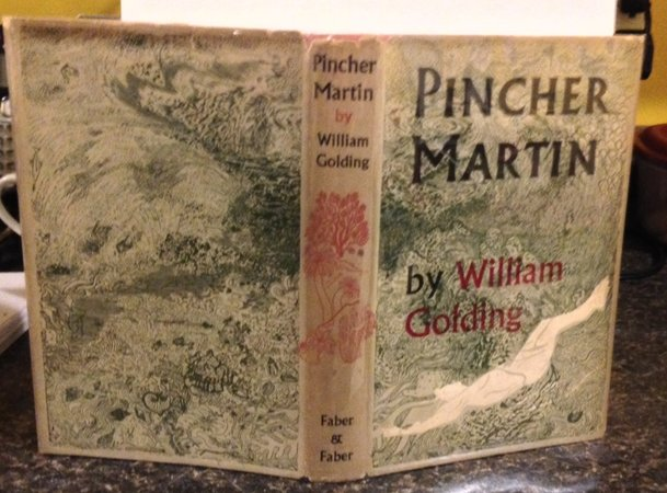 PINCHER MARTIN (inscribed before publication) by GOLDING, William