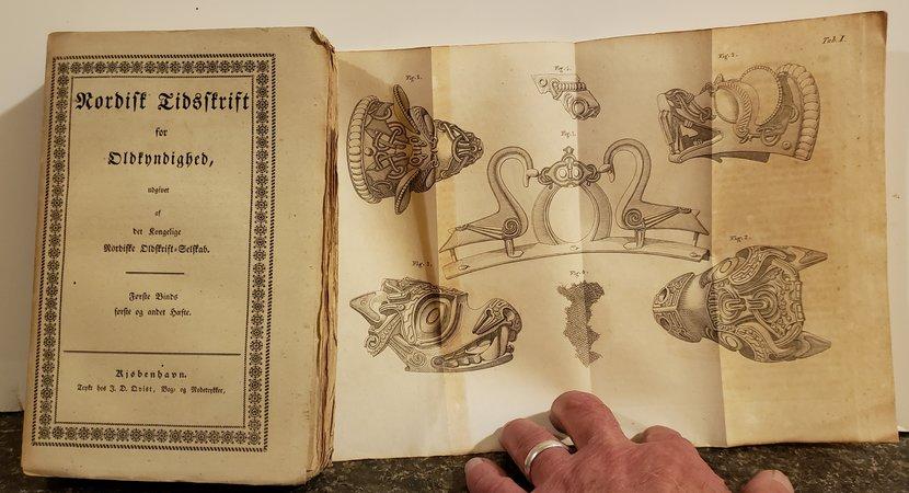 Nordisk Tidsskrift for Oldkyndighed, udgivet af det Kongelige Nordiske Oldskrift-Selskab