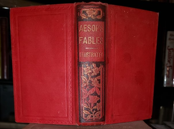 THE FABLES OF AESOP, with instructive applications by CROXALL, Samuel (Aesop)