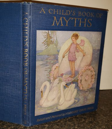 A CHILD'S BOOK OF MYTHS. Stories and illustrations by Margaret Evans Price. With an introduction by Katharie Lee Bates. by PRICE, Margaret Evans