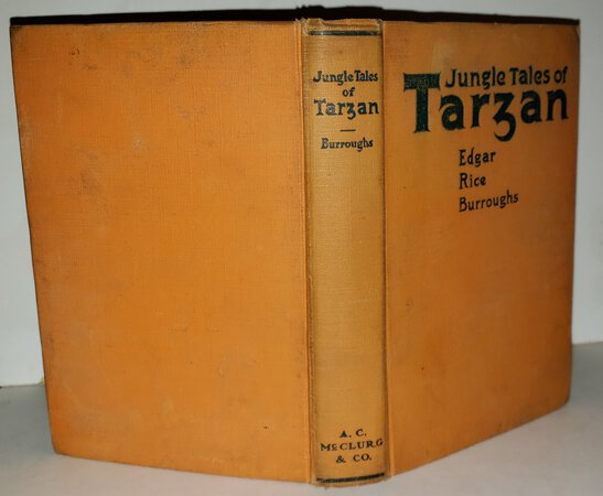 JUNGLE TALES OF TARZAN. Illustrated by J. Allen St. John by BURROUGHS. Edgar Rice