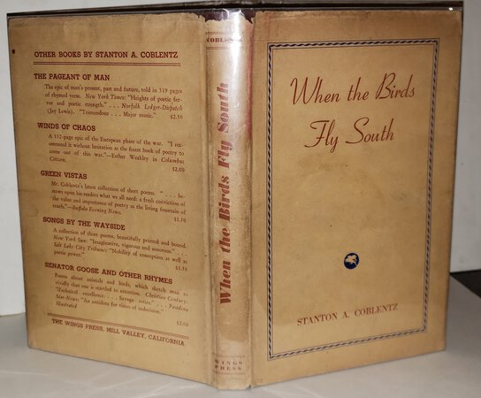 WHEN THE BIRD FLY SOUTH by COBLENTZ, Stanton A.