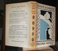 GRANITE AND RAINBOW: essays by WOOLF, Virginia