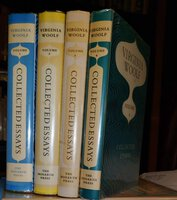 COLLECTED ESSAYS (4 volume set) by WOOLF, Virginia