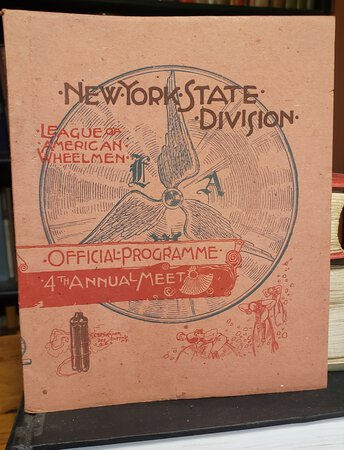 OFFICIAL PROGRAMME of the fourth annual meet of the New York State Division, LEAGUE OF AMERICAN WHEELMEN