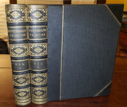PICTURESQUE PALESTINE, SINAI AND EGYPT (2 volume format) by WILSON, Charles, Col., editor
