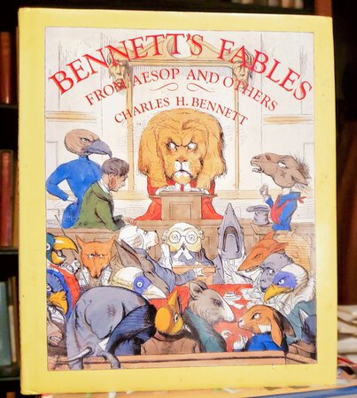 BENNETT'S FABLES from Aesop and Others, Translated into Human Nature. Foreword by Gerald Gottlieb by BENNETT, Chalres H.
