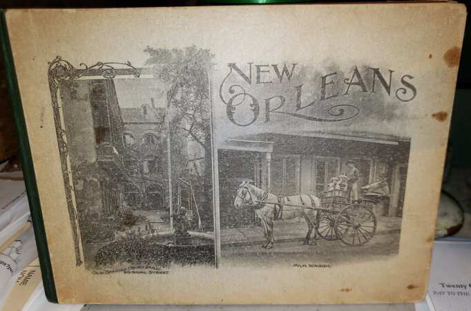 SOUVENIR OF NEW ORLEANS: photogravures