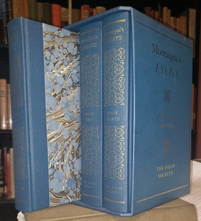 MONTAIGNE'S ESSAYS. Translated by John Florio. Introduced by Graham Swift. (3 volumes) by MONTAIGNE, Michel de
