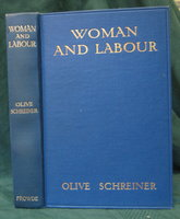 WOMAN AND LABOUR by SCHREINER, Olive