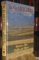 ROSES ARE DIFFICULT HERE (inscribed) by MITCHELL, W.O.