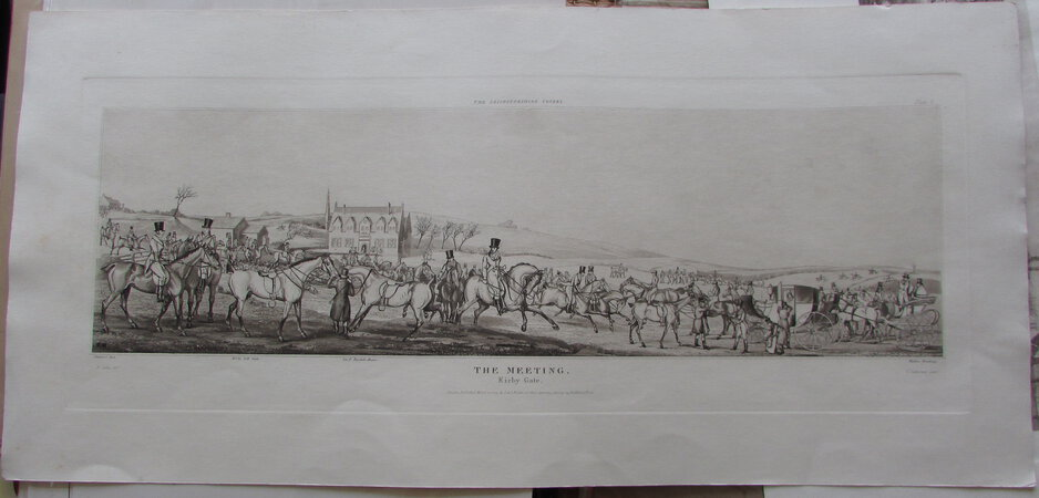 The Meeting. by ALKEN, Henry Thomas. & SUTHERLAND, T.