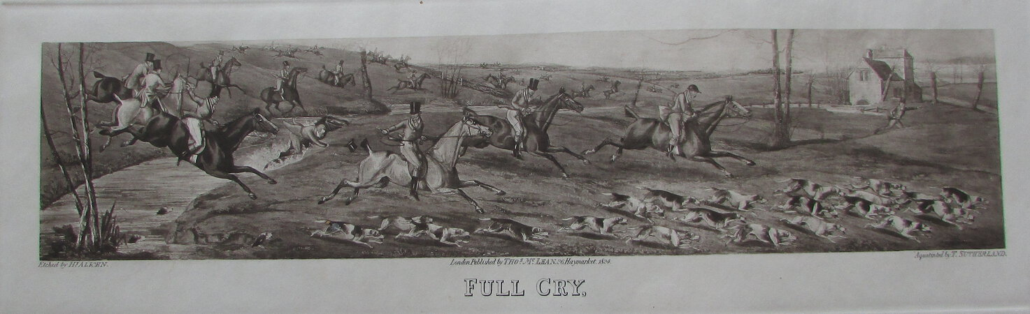 FULL CRY by ALKEN, Henry Thomas. & SUTHERLAND, T.