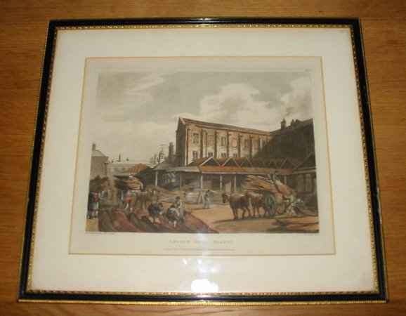 Leaden Hall Market by ACKERMANN, R[udolph].